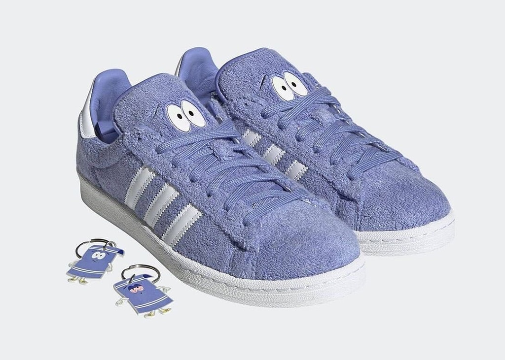 4/20 release door adidas en South Park: de adidas Campus 80's 'Towelie'