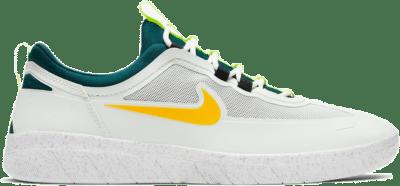 Nike SB Nyjah Free 2 Summit White University Gold BV2078-103