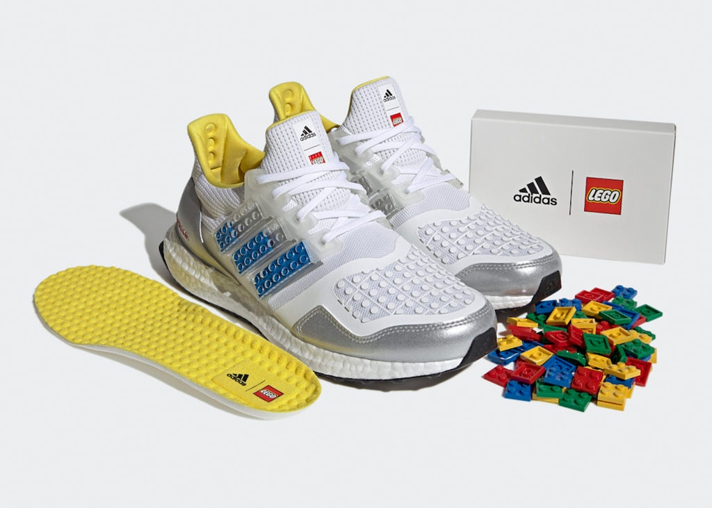 UPDATE: Straight from the (building) block: de adidas Ultra Boost x LEGO