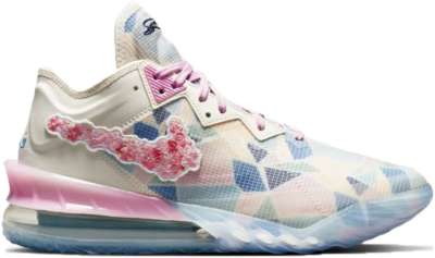 Nike LeBron 18 Low atmos Cherry Blossom CV7562-101
