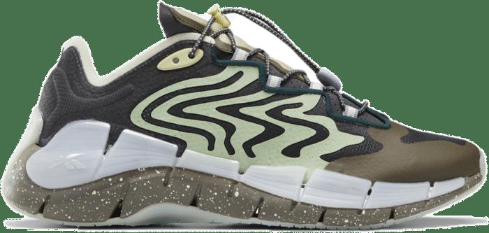 Reebok Zig Kinetica II Brain Dead Grey Green S23890