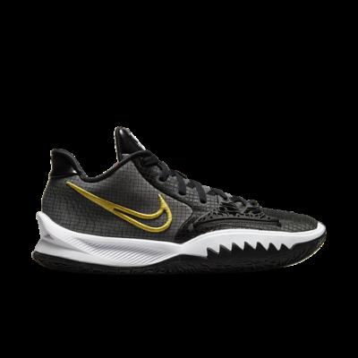 Nike Kyrie Low 4 Black/Metallic Gold-Black-White Array CW3985-001