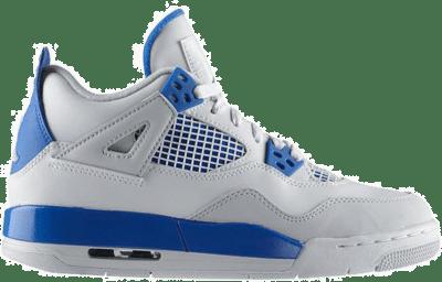 Jordan 4 Retro Military Blue 2012 (GS) 408452-105