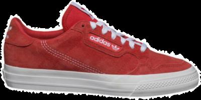 adidas Originals Continental Vulc Sneakers EF6001 rood EF6001