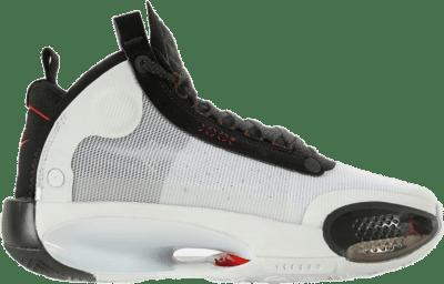 Jordan XXXIV White Black Red (GS) BQ3384-100