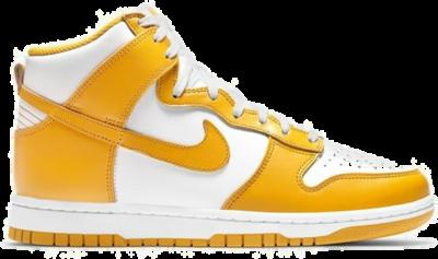 Nike Wmns Dunk High 'Dark Sulfur' Yellow DD1869-106