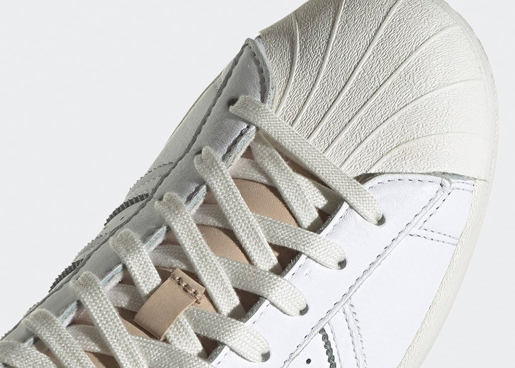 Historisch én kwalitatief een zwaargewicht: de nieuwe witte adidas Superstar