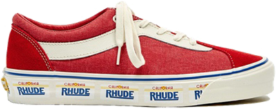 Vans Rhude x Bold Ni 'California Plate – Red' Red VN0A3WLPTHE1