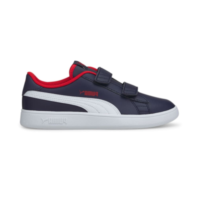 Puma Smash v2 Leather sportscchoenen Blauw / Wit 365173_13