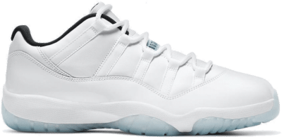 "Air Jordan 11 RETRO LOW (GS) ""WHITE"" 528896-117"