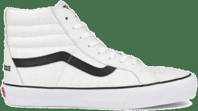 VANS VAULT x Noon Goons Sk8-Hi Reissue VAULT LX-Footwear White Snake / Black VN0A4BVH6161