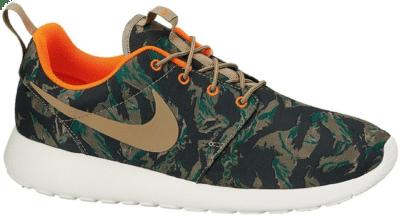 Nike Roshe Run Tiger Camo Green 655206-203