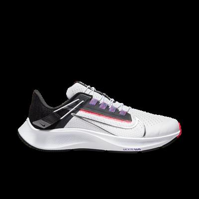Nike Wmns Air Zoom Pegasus 38 FlyEase 'White Metallic Silver' White DA6698-101