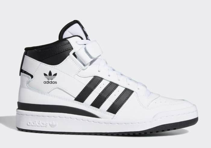 forum adidas mid white