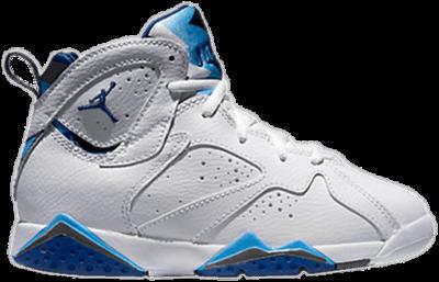 Air Jordan 7 Retro BP 'French Blue' White 304773-107