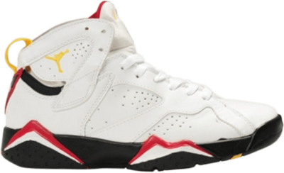 Air Jordan 7 Retro GS 'Cardinal' White 304774-104