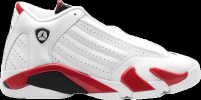 Air Jordan 14 Retro GS 'Candy Cane' 2012 White 487524-101