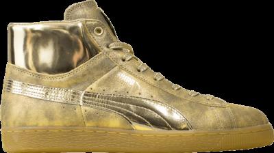 Puma Meek Mill x Suede Classic Mid '24K Gold' Gold 358258-01