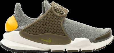 Nike Wmns Sock Dart SE 'GOld Leaf' Grey 862412-300