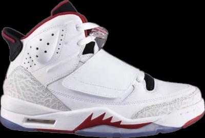 Air Jordan Son of Mars 'Fire Red' White 512245-112