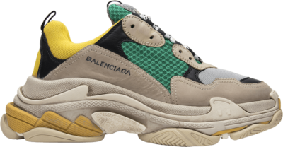 Balenciaga Triple S Sneaker 'Yellow Green' Yellow 483513W06E37070
