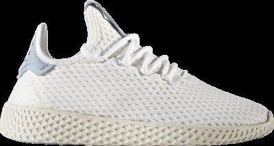 adidas Pharrell x Tennis Hu J 'Tactile Blue' White CP9804