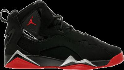 Air Jordan Jordan True Flight GS 'Black Red' Black 343795-003