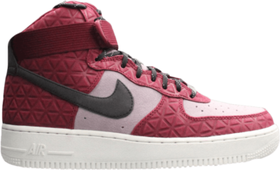 Nike Wmns Air Force Hi PRM Suede Red 845065-600