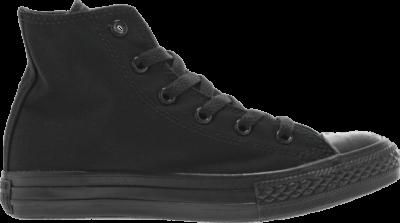 Converse Chuck Taylor All Star Hi GS 'Black Monochrome' Black 3S121