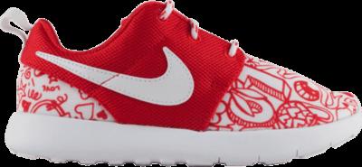 Nike Roshe One Print PS Red 749347-605