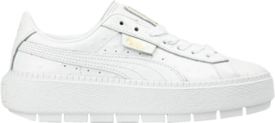 Puma Wmns Platform Trace 'White Ostrich' White 366684-02