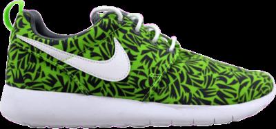 Nike Roshe One Print GS 'Green' Green 677782-009