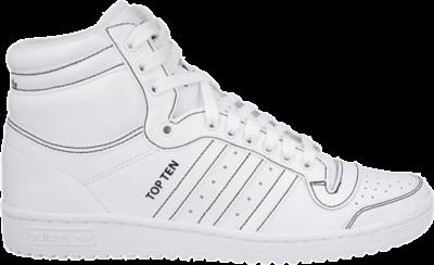 adidas Top Ten Hi 'Triple White' White F37588