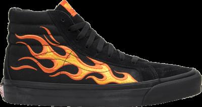Vans WTAPS x Sk8 Hi LX 'Flame' Orange VN0003T0UA3