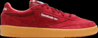 Reebok Club C 85 Indoor 'Burgundy' Red AQ9873