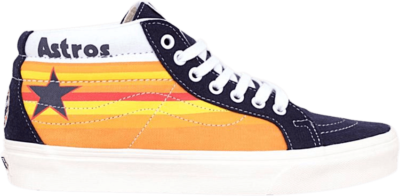 Vans MLB x SK8-Mid Reissue 'Astros' Orange VN0A3MV8RTI