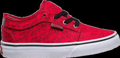 Vans Nintendo x Chukka Low Kids 'Bob-omb' Red VN000UDVK1W