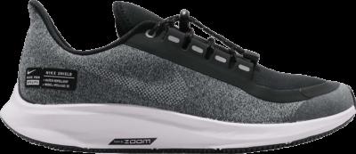 Nike Air Zoom Pegasus 35 Shield GS 'Black Silver' Grey AQ8779-001