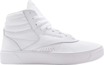 Reebok Wmns Freestyle Hi Nova 'White Purple' White CN3846
