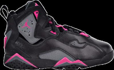 Air Jordan Jordan True Flight PS 'Grey Pink' Black 342775-009