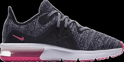 Nike Air Max Sequent 3 GS 'Black Pink' Black 922885-001