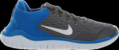 Nike Free RN 2018 GS 'Gunsmoke' Grey AH3451-005