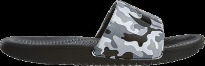 Nike Kawa Slide Print GS 'Wolf Grey' Grey 819358-008