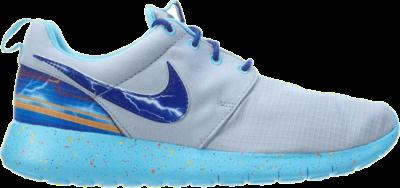 Nike Roshe One Print GS 'Wolf Grey Blue' Grey 677782-006