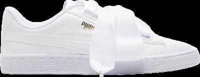 Puma Wmns Basket Heart Patent 'White' White 363073-02