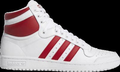 adidas Top Ten Hi 'White Scarlet' White EF2359