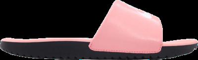 Nike Kawa Slide VDAY GS PS 'Bleached Coral' Pink BQ7427-600