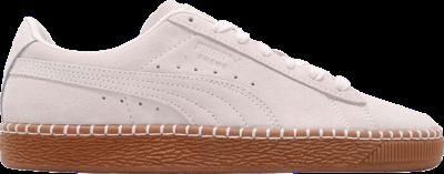Puma Suede Classic Blanket Stitch 'Whisper White' Cream 368903-03