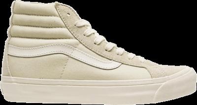 Vans Sk8-Hi LX Suede Canvas 'Pearl Marshmallow' Cream VN0A45JLVQS