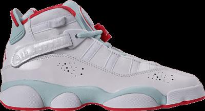 Air Jordan Jordan 6 Rings GS 'Topaz Mist' White 323399-104